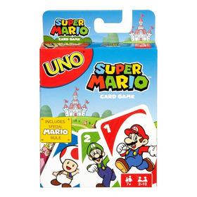Uno Super Mario Super Mario Bros Juego De Cartas