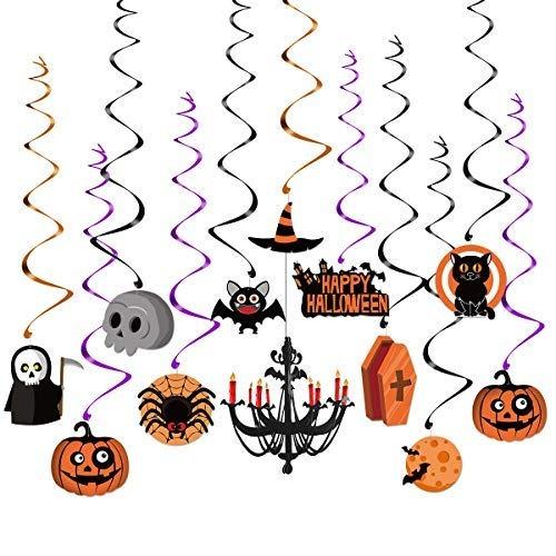 Unomor Halloween Decoración Para Colgar Para Caza, Araña, F ...