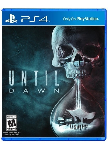 until dawn ps4 (disco fisico)