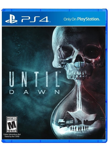 until dawn ps4 fisico sellado original nuevo jazz pc