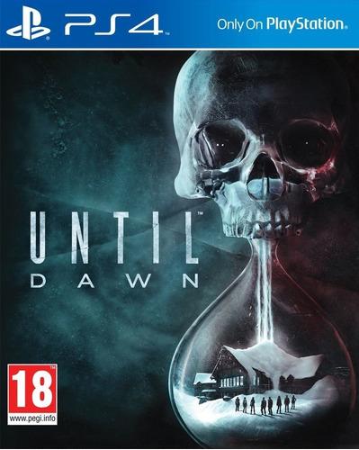 until dawn ps4 formato fisico juego playstation 4