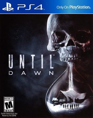 until dawn + uncharted 4  ps4 entrega gratis gcpd