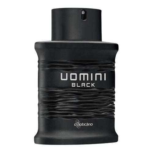 uomini black desodorante colônia 100ml