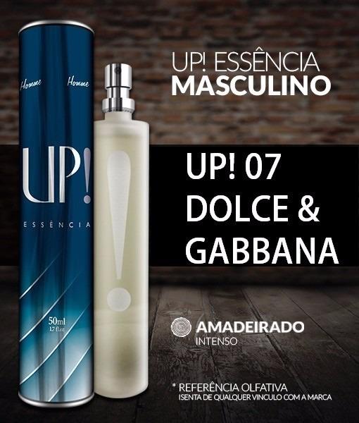 Up Essência Coliseu Nº07 Perfume Masculino ( Dolce Gabbana ) - R  99 ... 52faf77b348f