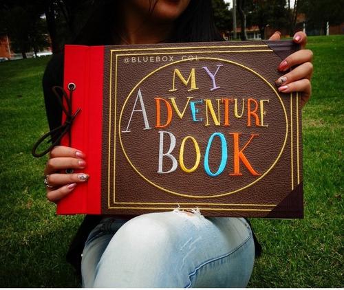 up! mi libro de aventuras - my adventure book up! grande