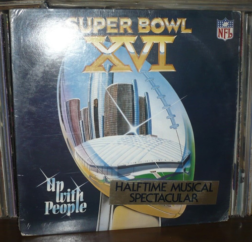 up with the people lp super bowl xvi hecho en usa