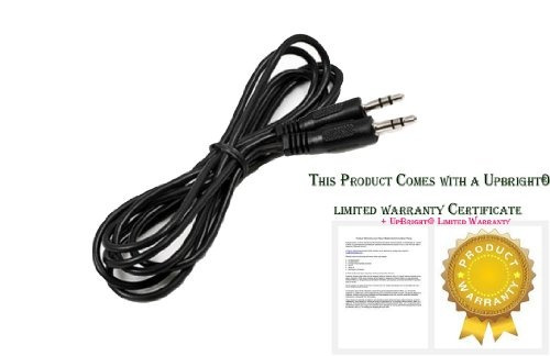 upbright® new both end 3 poles 1/8  3.5mm stereo audio aux