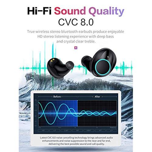 ¿updated version¿ true wireless earbuds bluetooth 5.0 ipx7 w