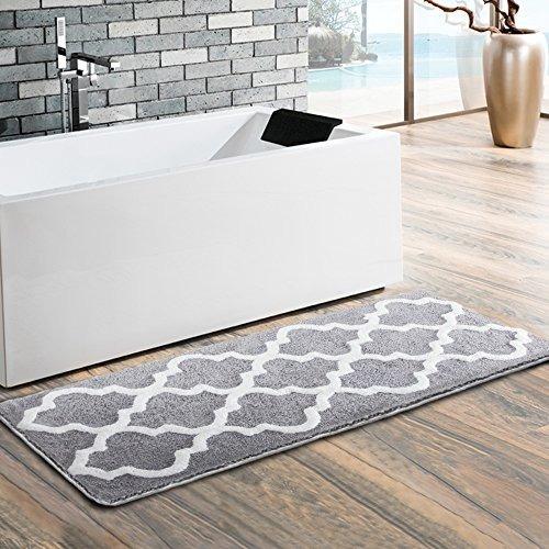 uphome moroccan patten alfombra extra larga lavable del mic