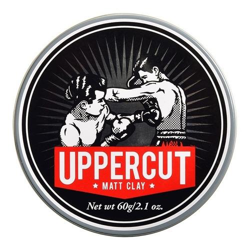 uppercut matte clay cera para cabello 2.1 oz