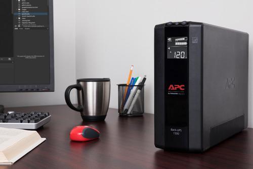 ups apc 1500va regulador voltaje bx1500 usb 10 tomas nuevo