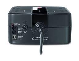 ups apc 550va / 330w batería de respaldo ups fuente de alime