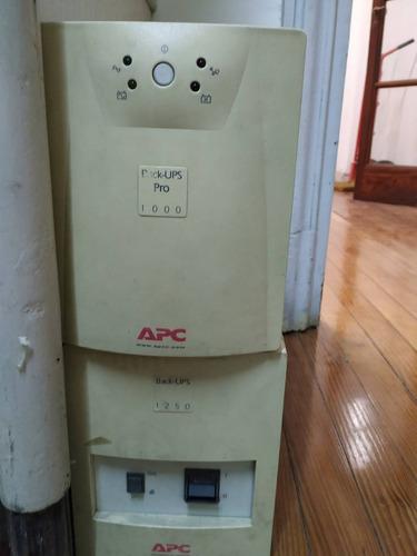 ups apc backup pro 1000 funcionando bat agotadas