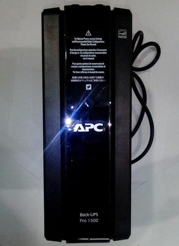 ups apc br1500g 1500va 10 tomas lcd avr potente electrico %