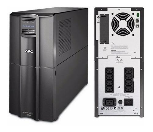 ups apc smart-ups smt2200i lcd 230v regulador de voltaje