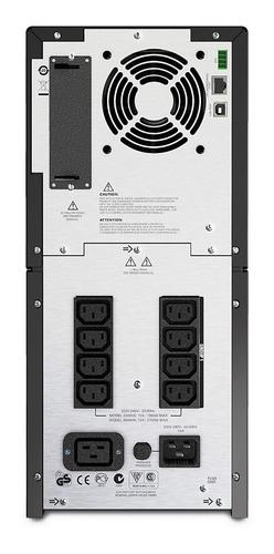 ups apc smart-ups smt3000i lcd 230v - regulador de voltaje