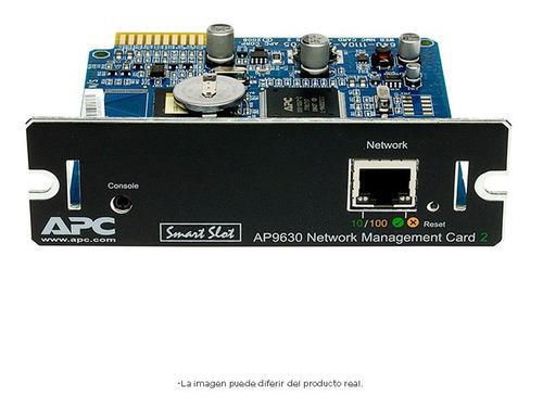 ups apc smartslot web tarjeta de gestión de redes ap9630