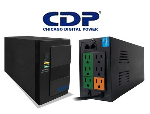 ups cdp 500va with avr 6 outlets and rj45