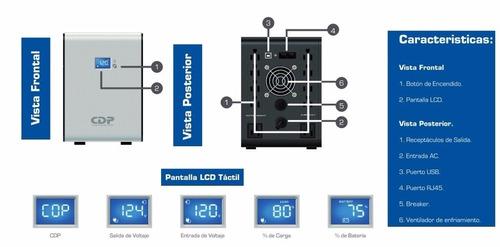 ups cdp r-smart 1510 1500va/900w 10 tomas promoción.