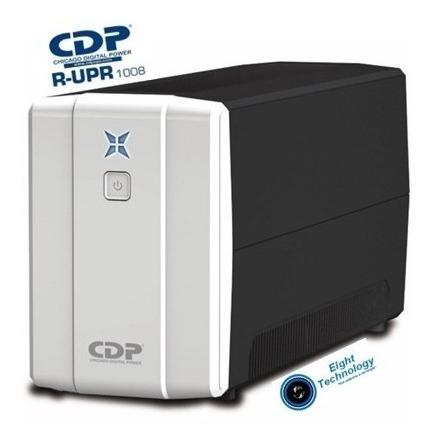 ups cdp r-upr 1008 de 1000va 500w y regulador 8 tomas 120v