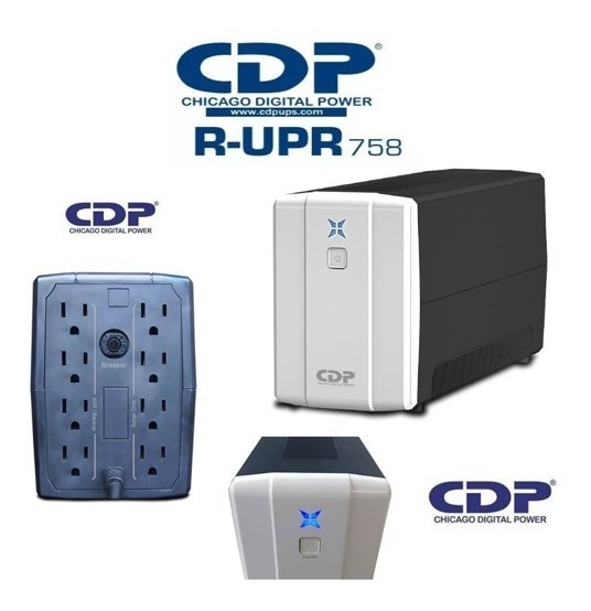 Ups 500Va Interactiva Cdp R-UPR 508 8 Tomas