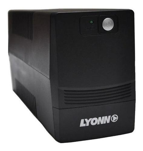 ups + estabilizador lyonn ctb-1500 150o watts display