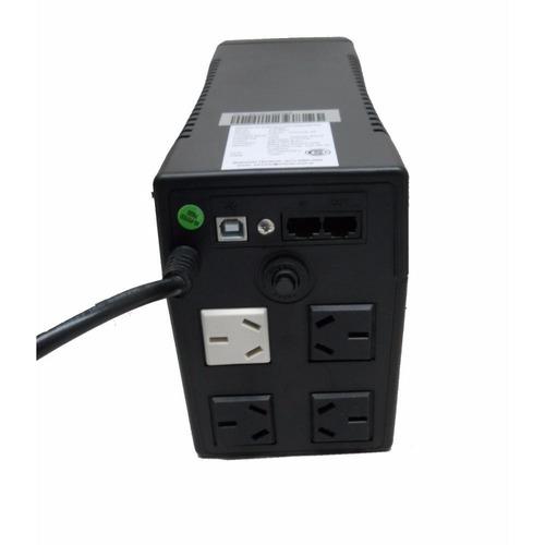 ups + estabilizador lyonn ctb-800a 800w 800va soft  slot one