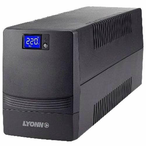 ups + estabilizador lyonn ctb-800a 800w 800va + soft + usb