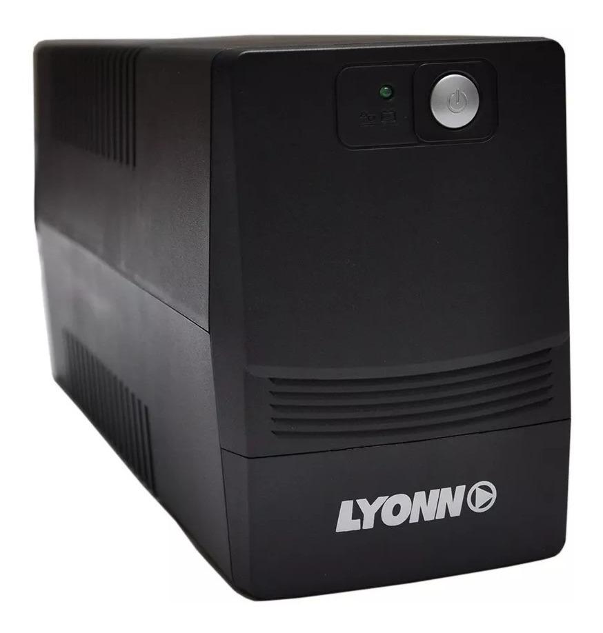 UPS ESTABILIZADOR LYONN CTB-800V 800VA DISPLAY LED RJ45 4 TOMAS(CTB-800V)