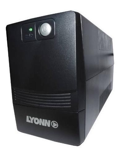 ups + estabilizador lyonn desire 500 500w 500va
