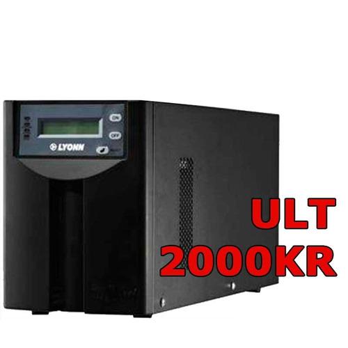 ups + estabilizador lyonn ult 2000 kr soft + usb - servidor