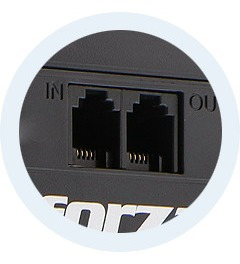 ups forza modelo nt-1011 de 1000va y 500w 120v 6 tomas rj11