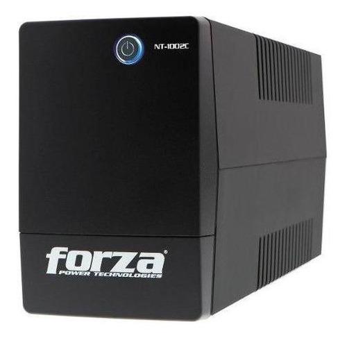 ups forza nt-1002c 1000va 500w 4 salidas - techbox