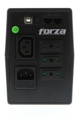 ups forza sl-602ul-c 600va 360w - techbox