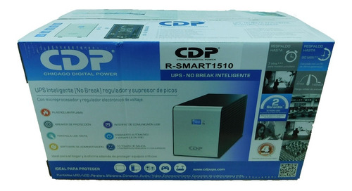 ups interactivo con regulador 1500va 900w cdp r-smart 1510
