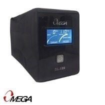 ups omega 800va lcd 6 tomas modelo 432801 nano