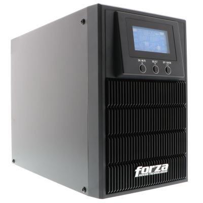 ups online forza 1kva/800w doble conv 220v 5 salidas tower