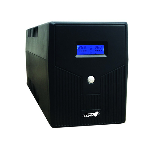 ups regulador de voltaje 2000va 8 tomas / puerto usb logan