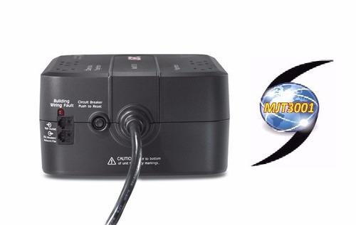 ups regulador de voltaje apc  550va 8 tomas backups