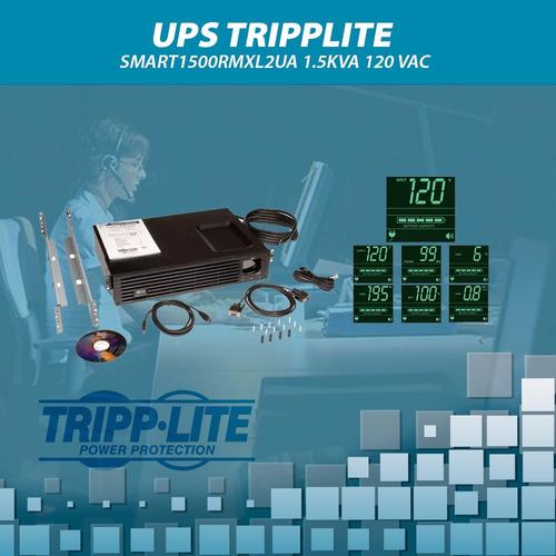 ups  tripplite smart1500rmxl2ua 1.5kva 120 vac