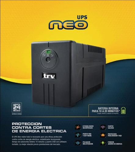 ups trv neo 1200 va envíos gratis a todo el país