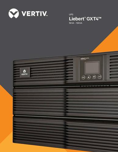 ups vertiv - liebert online gxt4-6000rt208 6kva/6000w