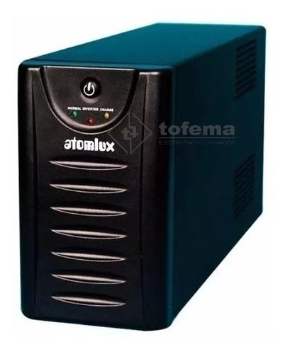 ups y estabilizador de tensión de 1000w atomlux - tofema