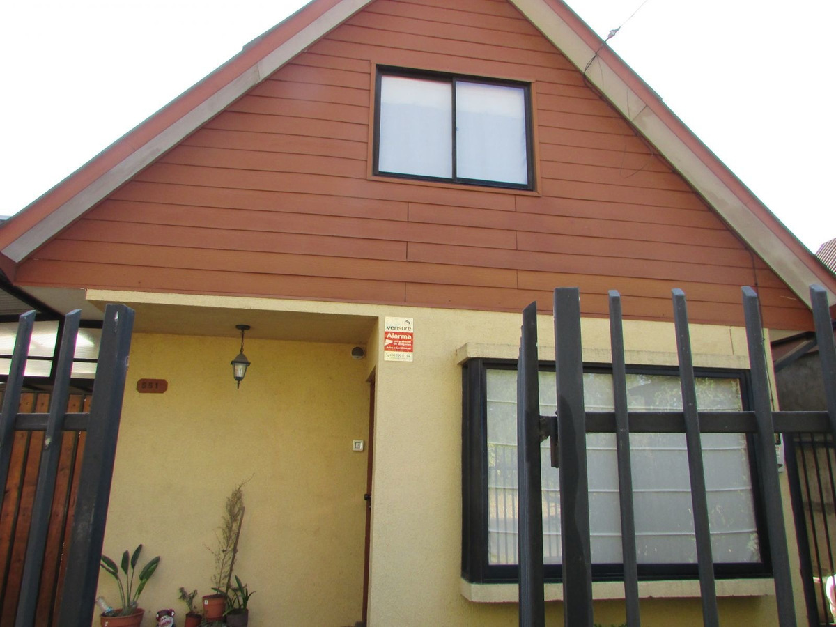 urbalia arrienda hermosa casa, en brisas de san agustin, chillan
