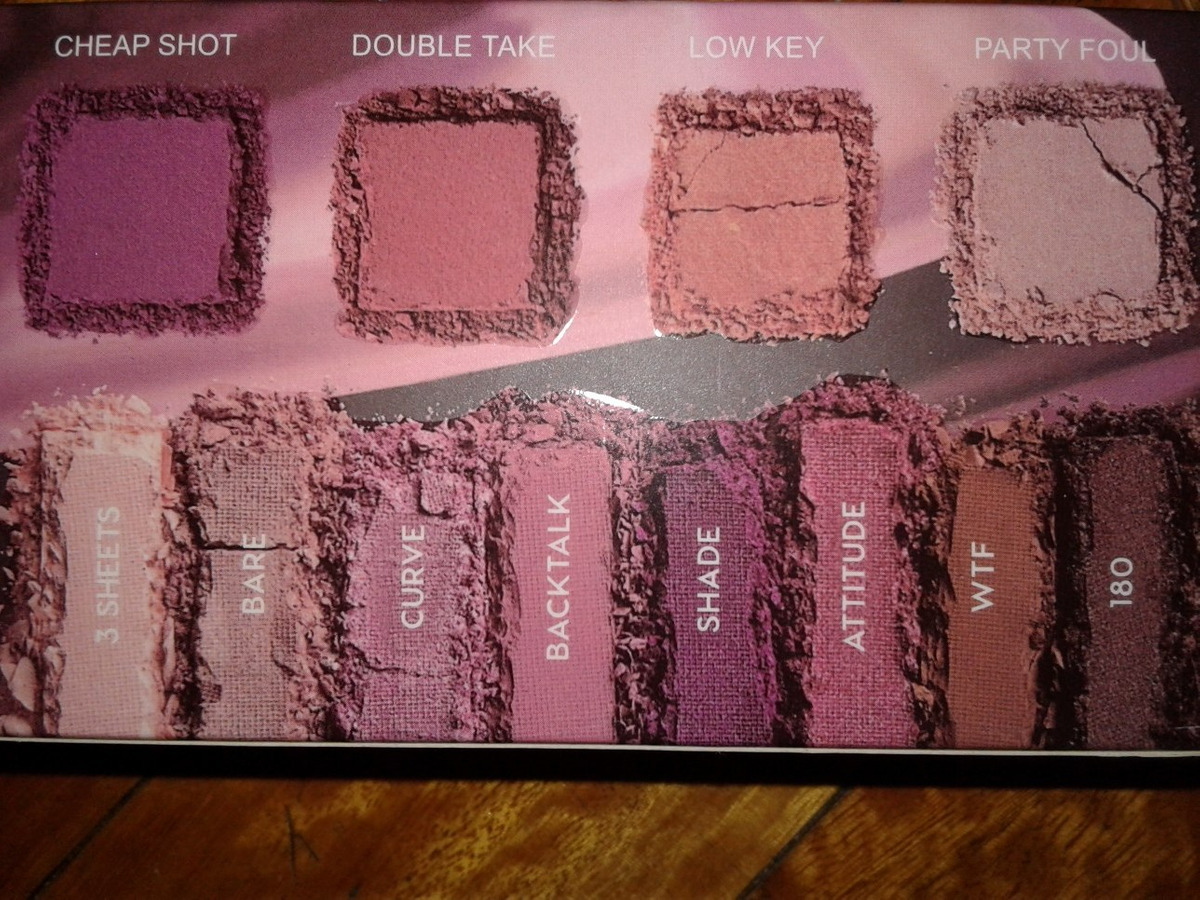 75ad99122 Urban Decay Backtalk Makeup Kit Palette Original Usa Cargando Zoom