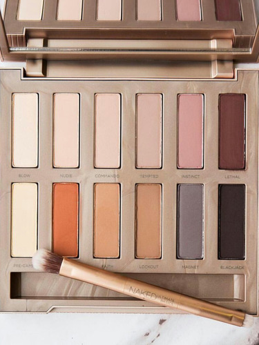 urban decay estojo de sombras naked ultimate basics palette
