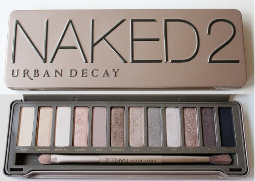 urban decay naked 2 la palette tester probador