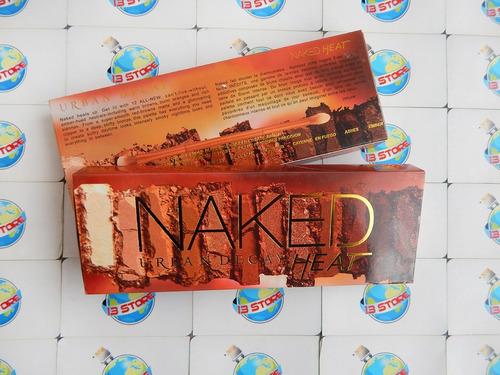 urban decay naked heat paleta sombras brocha maquillaje