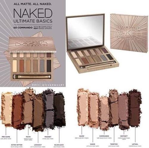 urban decay - naked ultimate basics - paleta de sombras