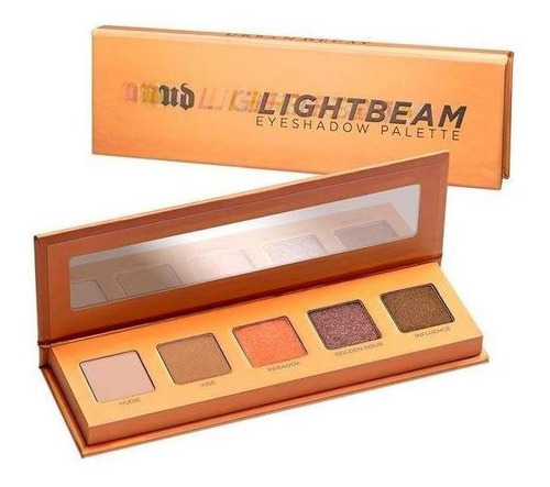 urban decay - paleta de sombras - lightbeam
